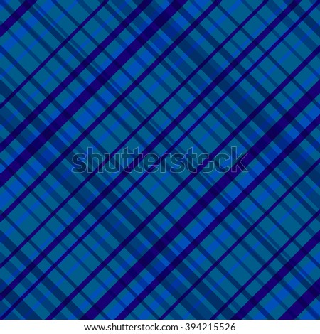 Blue seamless pattern with crossing diagonal strips. Vector illustration.Design for textile,fabric,wrapping paper. - stock vector