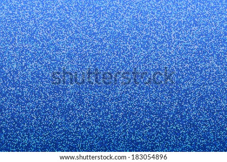 Blue seamless shimmer background with shiny round paillettes. Sparkle glitter techno background .Blue Technology Background, vector illustration - stock vector