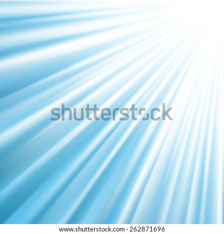 Blue Sky Background With Gradient Mesh - stock vector