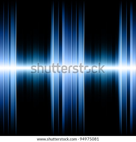 Blue Striped Background. Fully editable EPS 10 Vector Format. Colors can be changed just in few steps. - stock vector
