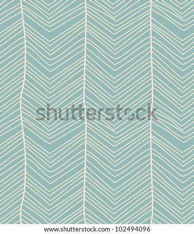 blue striped seamless pattern - stock vector