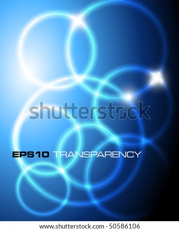 Blue stylish background - vector illustration