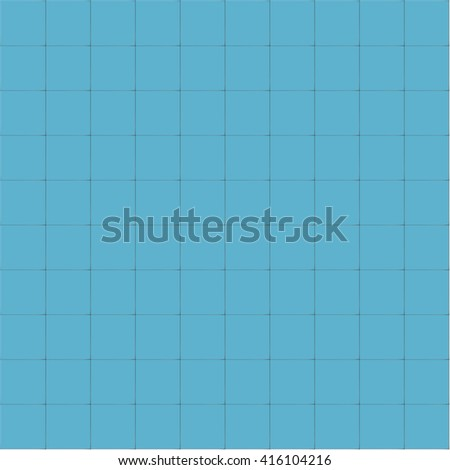 blue tiles vector texture. - stock vector
