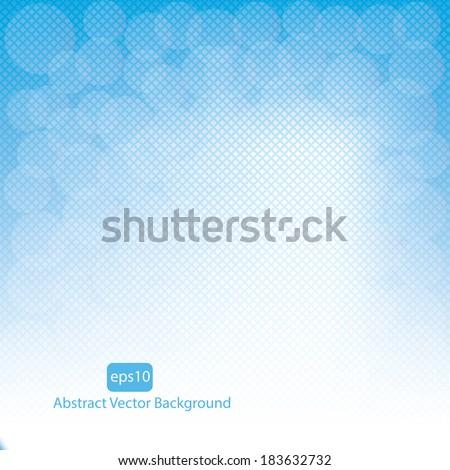Blue vector abstract background.vector - stock vector