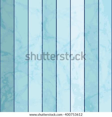 Blue wooden  planks  - stock vector