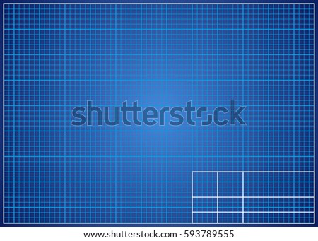 Blueprint background technical design paper vector stock vector blueprint background technical design paper vector illustration malvernweather Choice Image