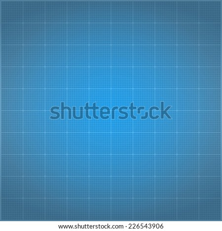 Blueprint background, vector eps10 illustration - stock vector