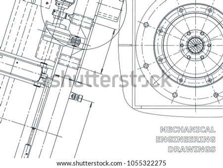 Blueprint sketch vector engineering illustration cover stock vector blueprint sketch vector engineering illustration cover flyer banner background malvernweather Image collections