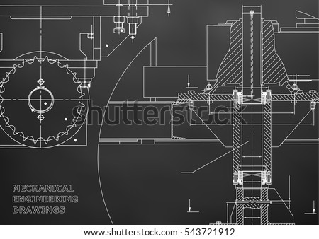 Engineering stock images royalty free images vectors shutterstock blueprints engineering backgrounds mechanical engineering drawings cover banner technical design malvernweather Gallery