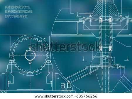 Blueprints mechanical construction engineering illustrations blueprints mechanical construction engineering illustrations technical design banner blue malvernweather