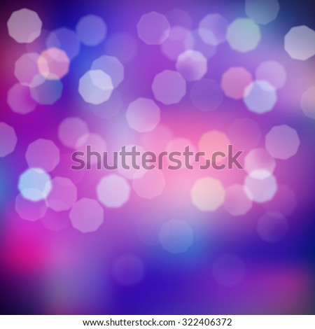 Blurred lights background - stock vector