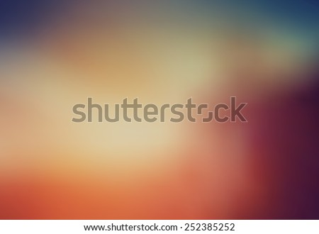 Blurry abstract background  - stock vector
