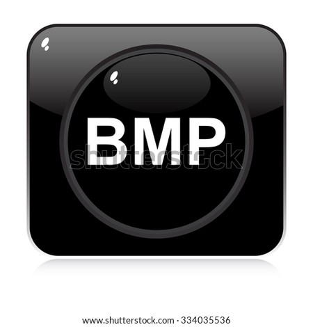 bmp button  - stock vector