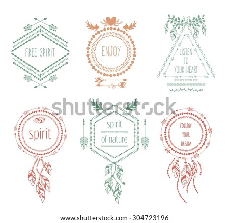 boho stock photos royalty free images vectors shutterstock. Black Bedroom Furniture Sets. Home Design Ideas