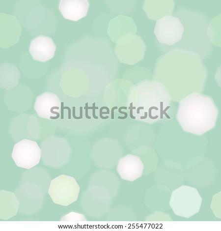 Bokeh light Vintage background. seamless - stock vector