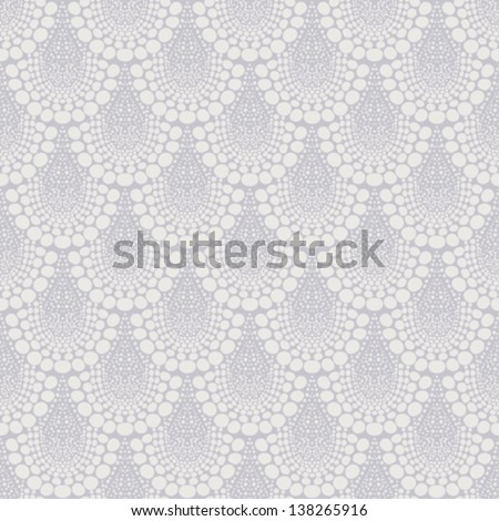 Bold damask geometric ornament in art deco style in shades of grey. Texture for web, print, wallpaper, fall winter fashion fabric, textile design, background for wedding invitation or holiday decor - stock vector