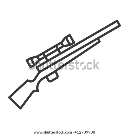 Rifle stock carving muzzleloader sketch coloring page for Shotgun coloring pages