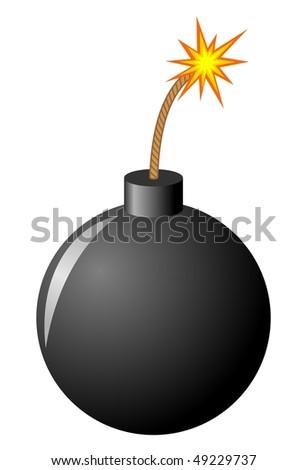 Bomb - stock vector