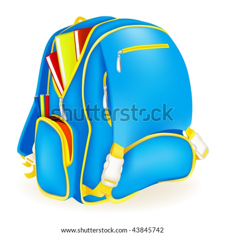 Book Bag, vector