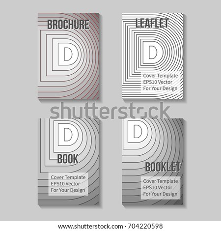 Book Title Page Template. Business Report Or Booklet Cover. Brochure  Layout. Poster,  Business Report Cover Page