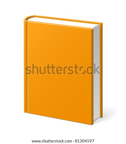 Book vector isolated - stock vector