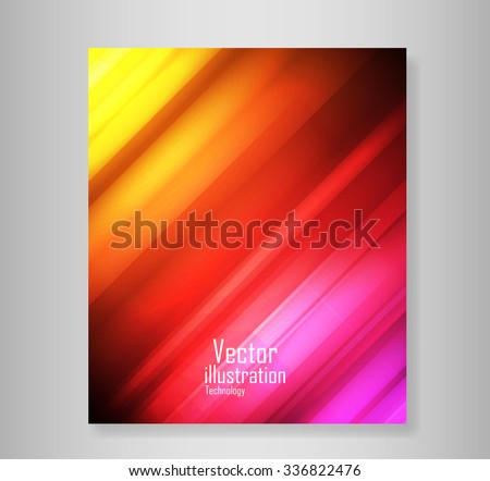 Book Wave abstract vector backgrounds abstract, vector backgrounds  - stock vector