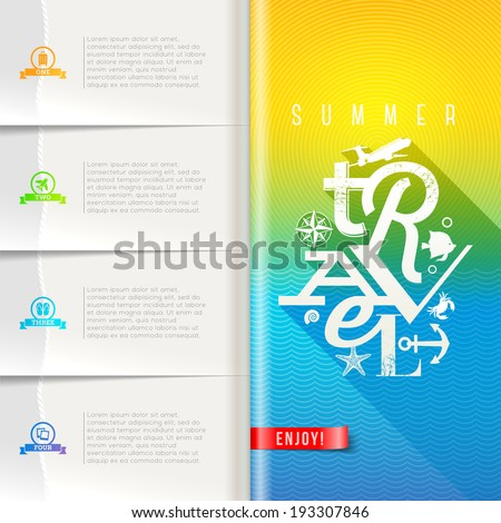 Business Design Cover Magazine Infographic Background Stock Vector ...