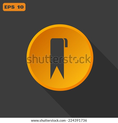 bookmark Web icon. vector design