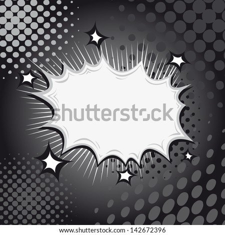 Boom. Comic book explosion - stock vector