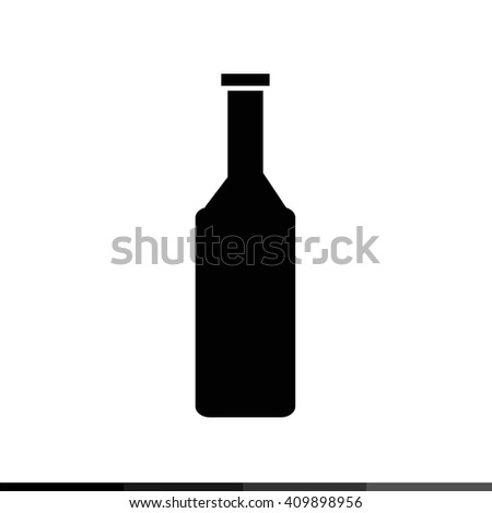 Bottle Icon Illustration design