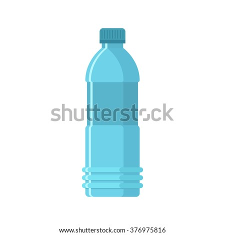 Bottle of water - stock vector