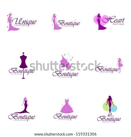 Boutique logo stock images royalty free images vectors for Best names for boutique hotels