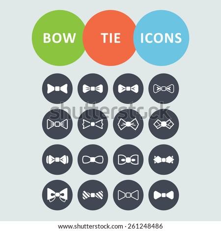 Bow tie vector - stock vector