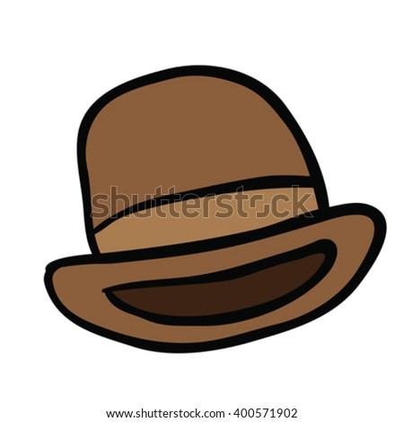 bowler hat cartoon