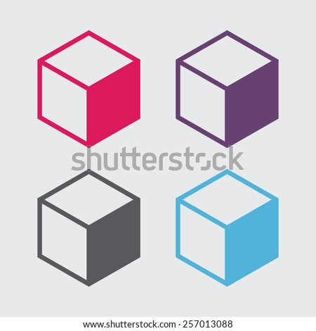 box vector icon stock vector 257013088 shutterstock rh shutterstock com box vector bmx cranks box vector files