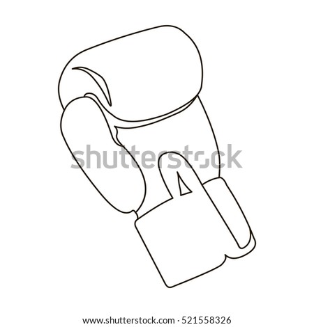 boxing glove outline stock images royalty free images vectors shutterstock. Black Bedroom Furniture Sets. Home Design Ideas