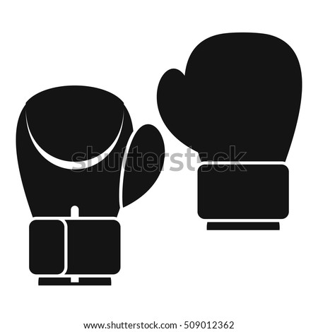 Boxing Glove Icon Stock Images Royalty Free Images