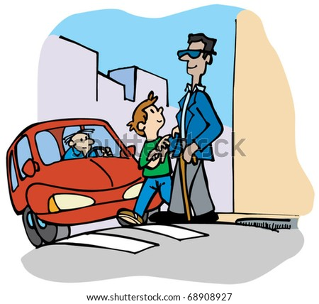 man crossing the street clip art � cliparts