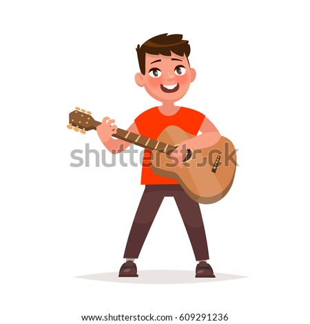 Cartoon Guitarist Stock Images, Royalty-Free Images ...