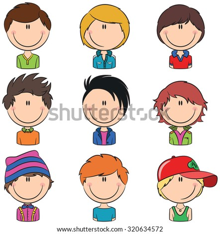 Boys avatar useful for Social network