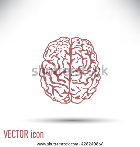 flat brain icon - photo #34