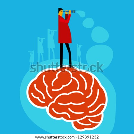 brain searching idea