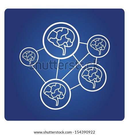 brainstorm concept symbol - stock vector