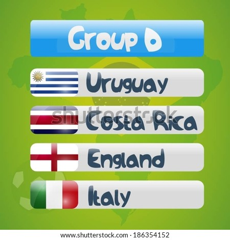 Brazil soccer cup - group D