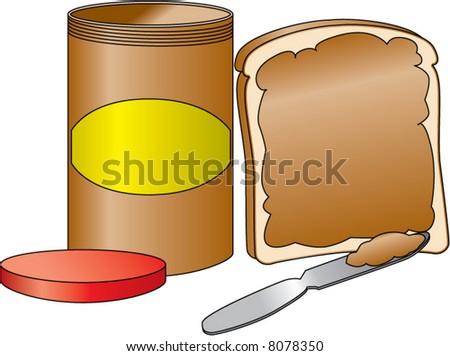 Similiar Peanut Butter Jar Drawing Keywords