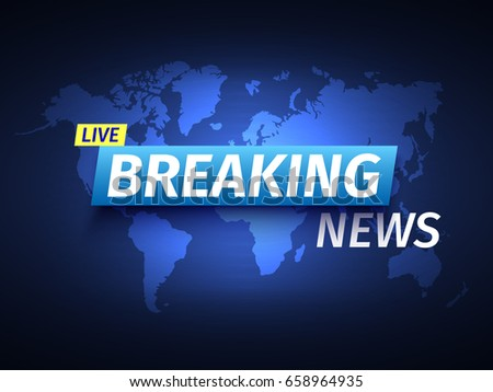 Breaking news background world map vector stock vector 2018 breaking news background world map vector stock vector 2018 658964935 shutterstock gumiabroncs Images
