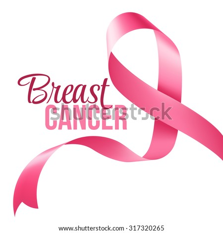 Breast Cancer Awareness Ribbon Background Vector Stock Photo Photo