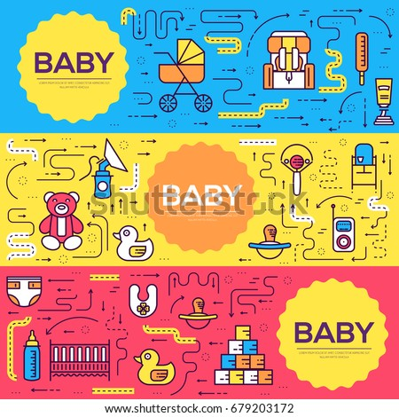 Kids book layout stock images royalty free images for Breastfeeding brochure templates