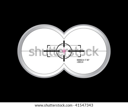 breech-sight - stock vector