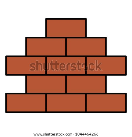 Bricks Wall Pile Icon